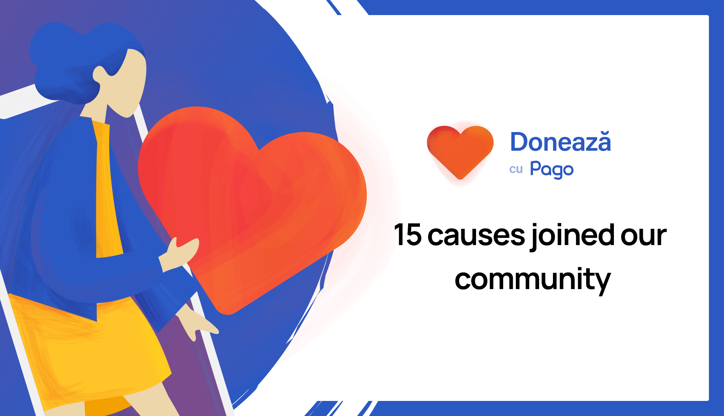 15 local causes join the Donate with Pago community to raise donations at no cost